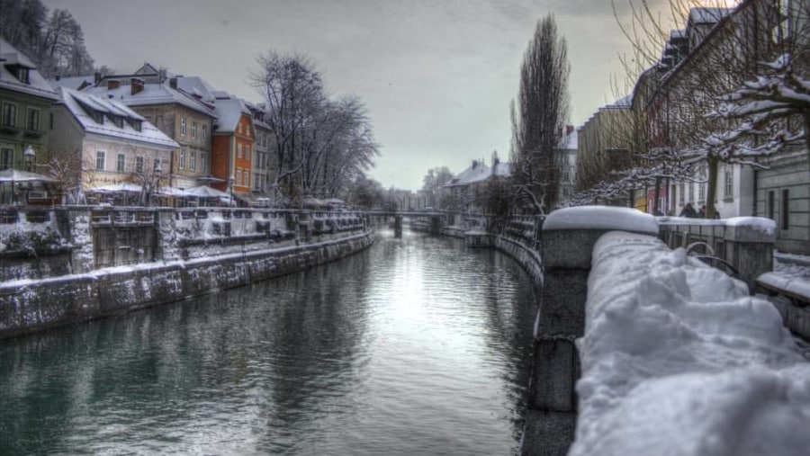 Ljubljana by Winter