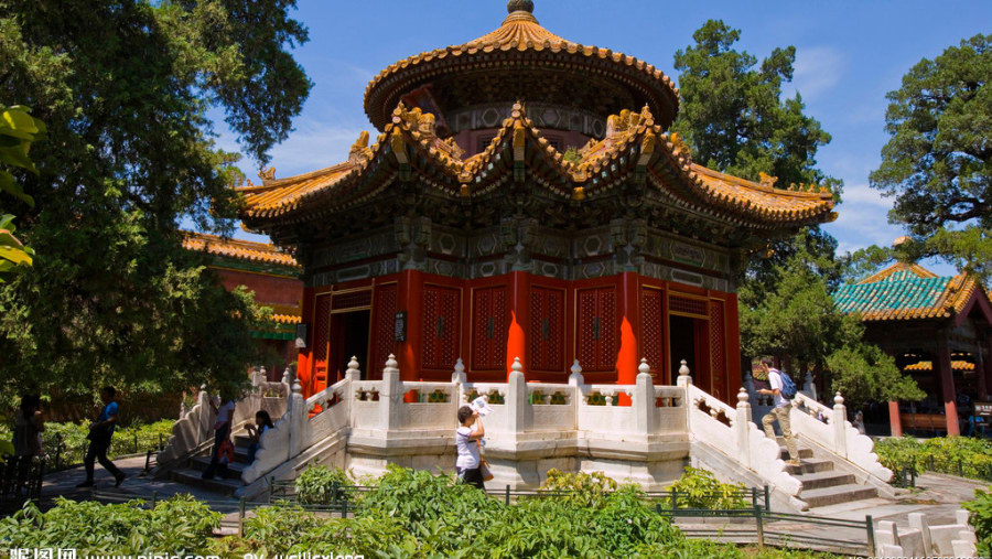 Pavilion in Forbidden City