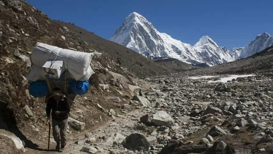 Sherpa khumbu area