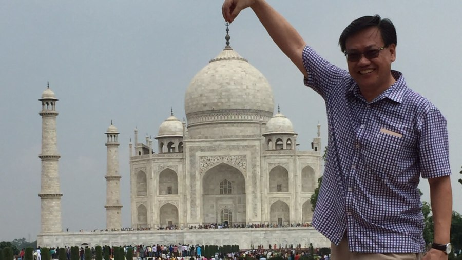 Unforgettable trip with Varun in Agra!!