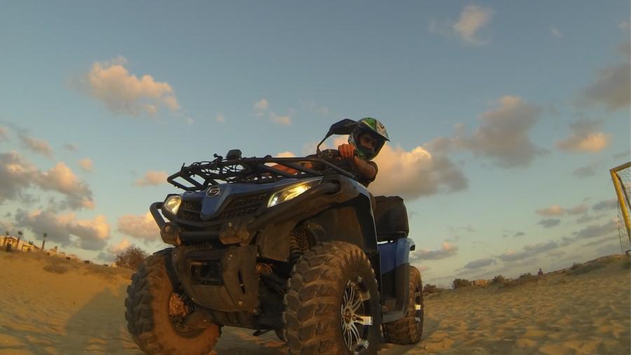 Adventurous excursions on quad