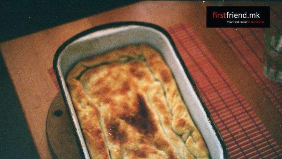 Komat - Ohrid ve Struga bölgelerine özgü geleneksel bir börek türü