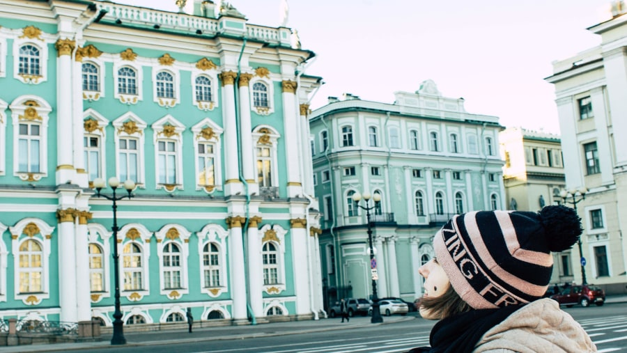 Amazing Winter Palace and Hermitage museum