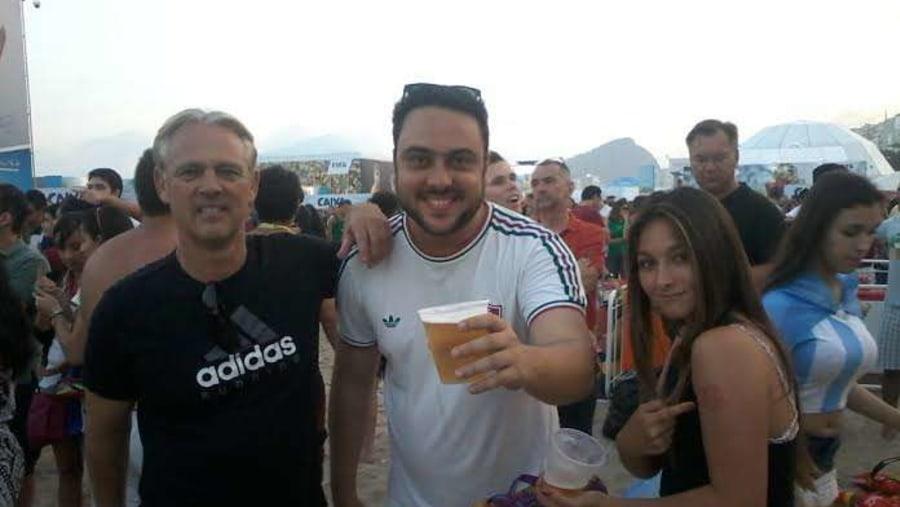 Fifa Fan Fest - taking american friends to the party