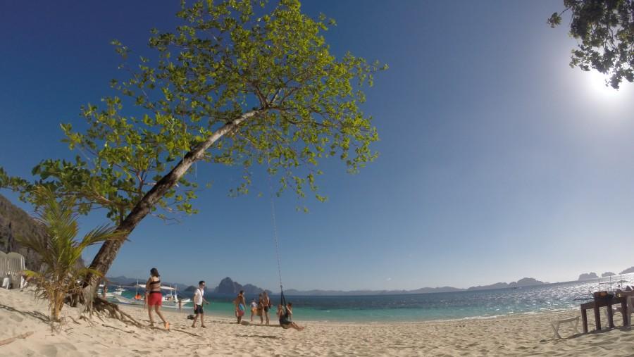 seven commando Beach El Nido Palawan