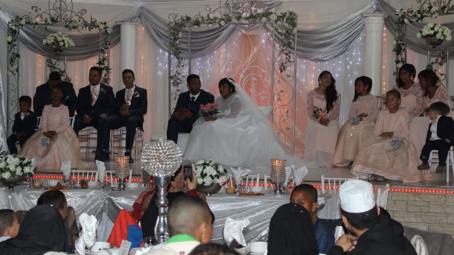 A typical Cape Malay Wedding