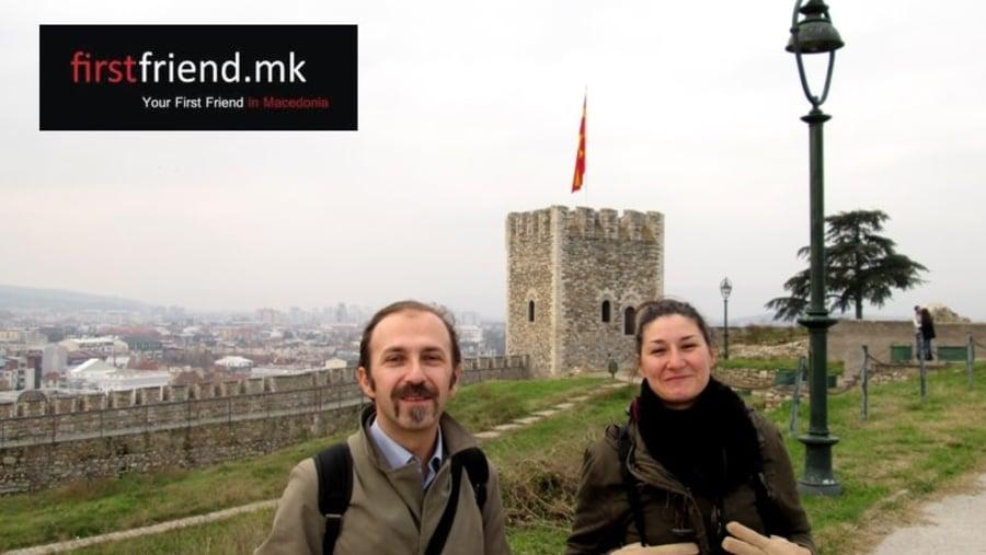 Skopje Kale Fortress (with Théâtre des Ombres, Tolouse, France)