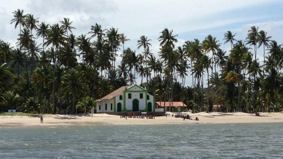 Praia dos Carneiros (Capela de São Benedito)
