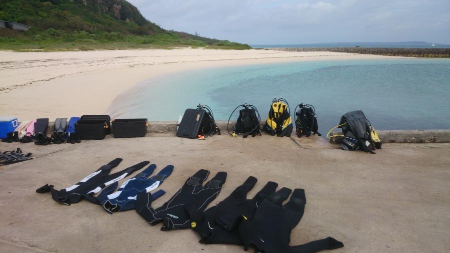 beach dive