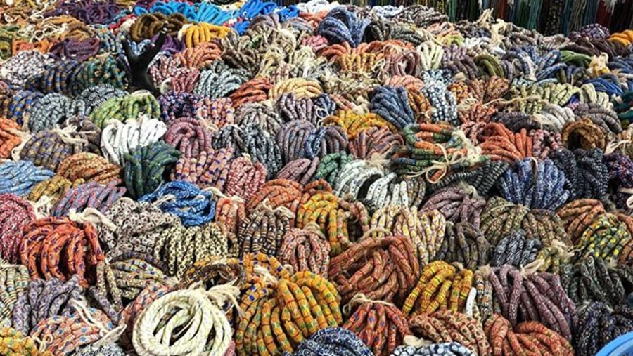 Beautiful beads collection at Tk beads in Amrahia off dodowa road