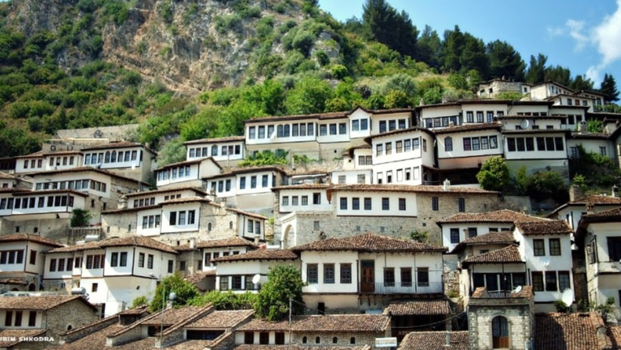 Mangalem Quarter, Berat City