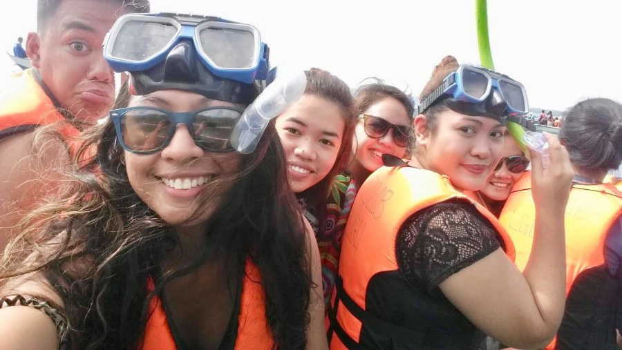 Oslob whale shark adventure with my guests