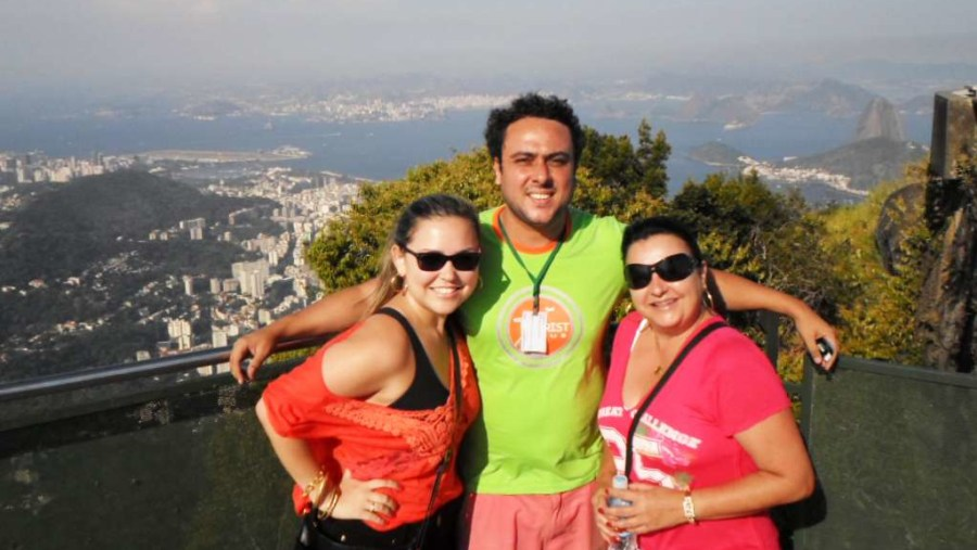 The Christ the redeemer top