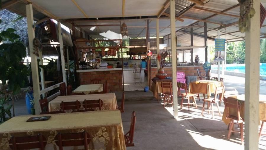 Amazon Jungle Retreat Restaurant next door from Amazon Jungle Retreat