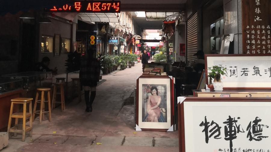local art & craft market