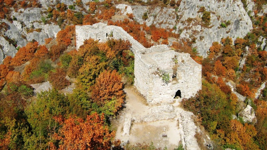 old Sokograd fortress made during the Car Jutinian, than rebuilted by Despot Stefan Nemanja in the XII century