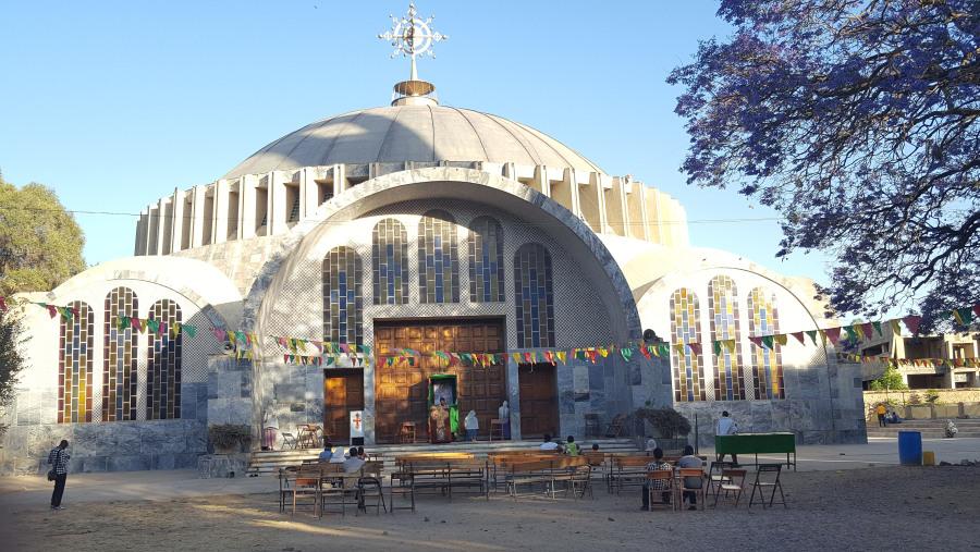 Aksum St.Mary zion church