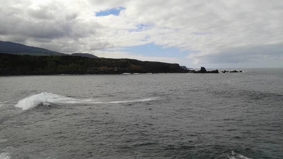 Where the land fades into the ocean (Ponta da Forcada, Vila Nova, Terceira)
