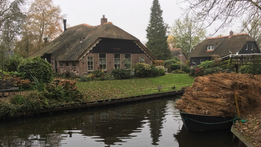 giethoorn old village