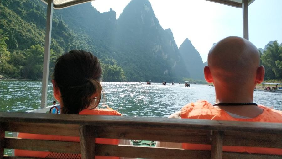 Bamboo Rafting on Li River