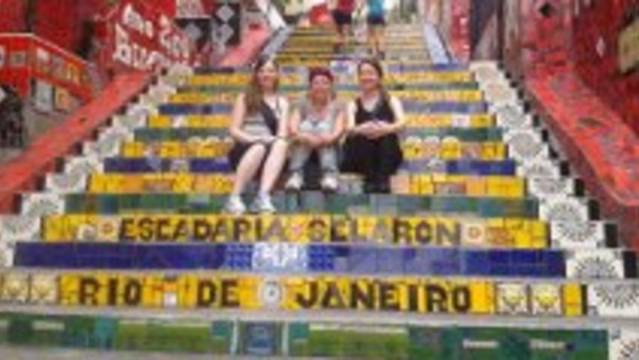 Selarón Stairs, Lapa
