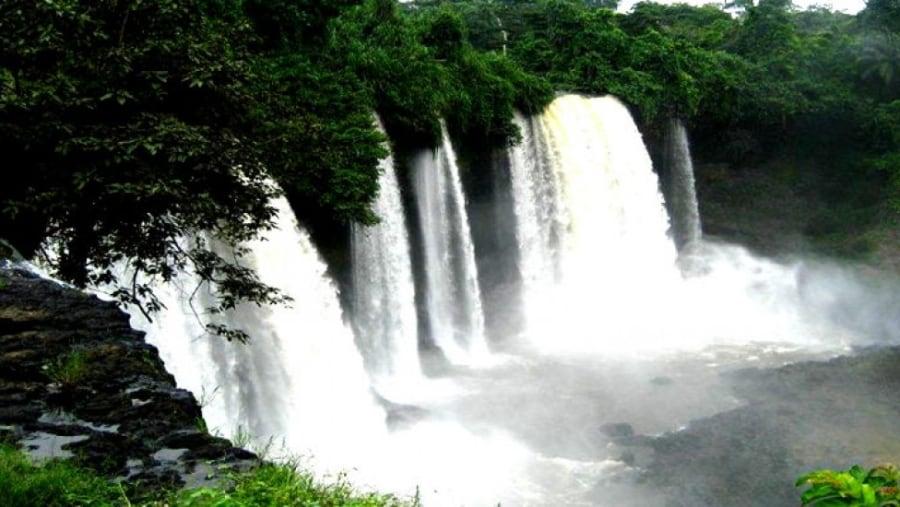 agbokim water falls rivers nigeria