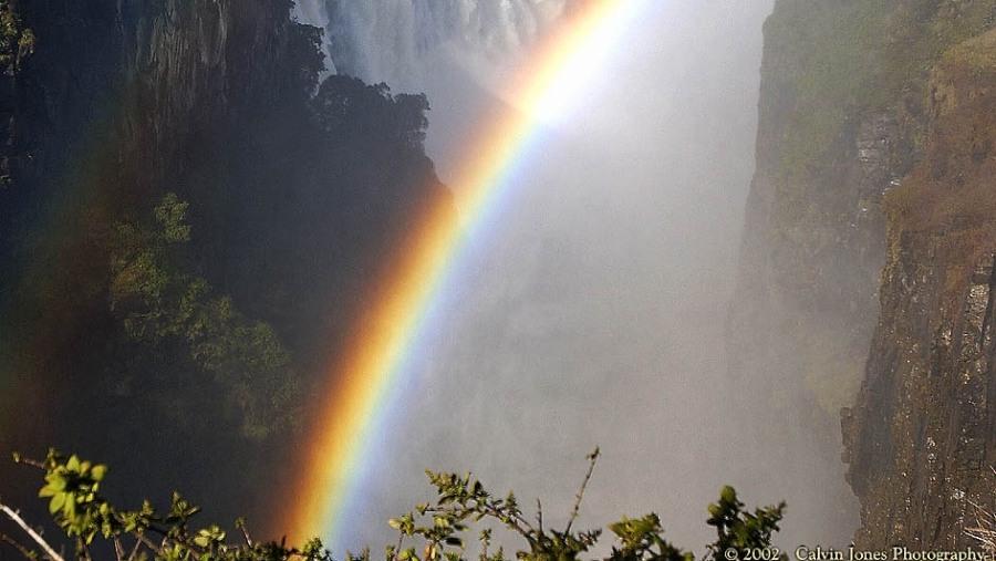 Rainbows at the main falls