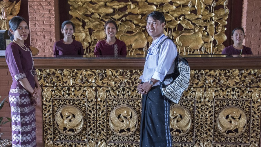 Intelligent and highly knowledgeable ad professional Guide in and around Bagan