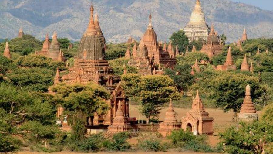 beautiful temples in Bagan!