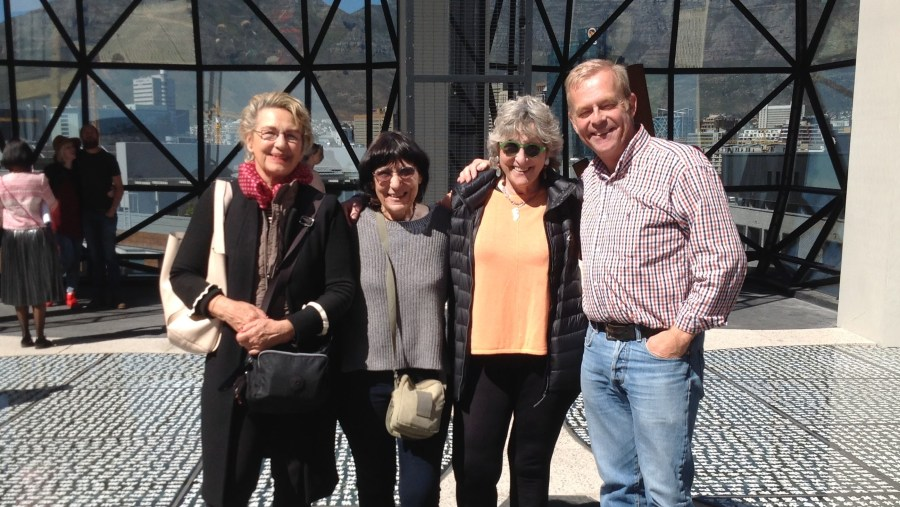 My local guests at the Zeits Mocaa Museum