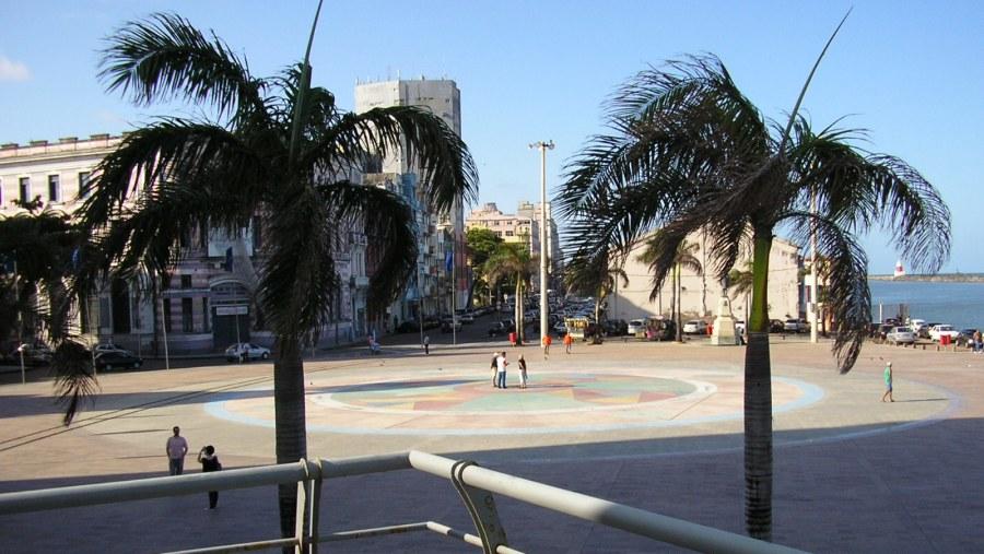 Praça Barão do Rio Branco - Marco Zero (Landmark Zero)