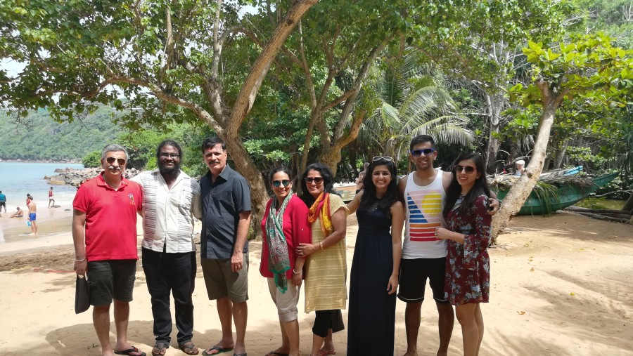 Tour with my Indian clients