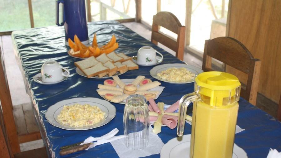 breakfast on the lodge