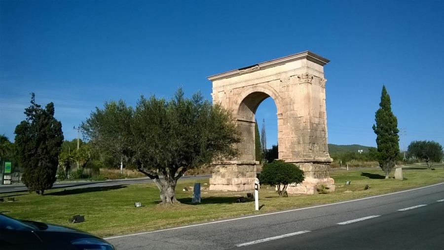 Arc of Triumph in Tarragona