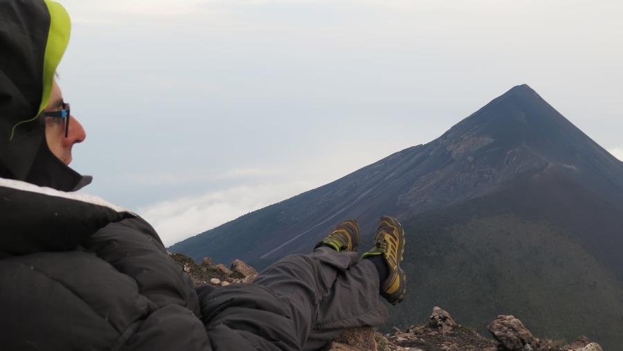 Volcán Acatenango y Fuego