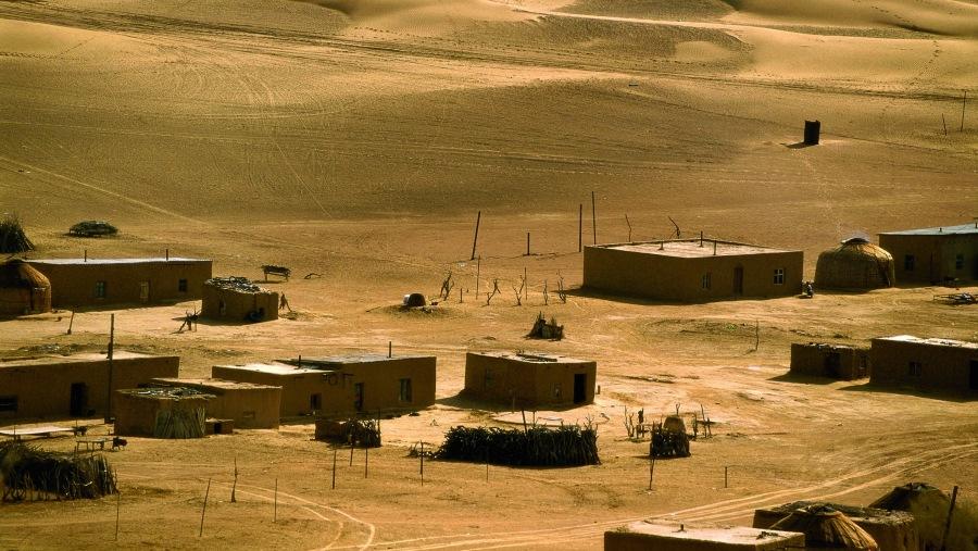 Damla village Karakum desert