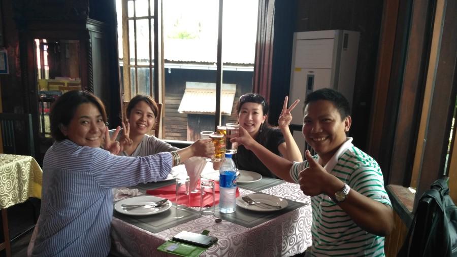 Lunch time @ Hantharwaddy Restaurant