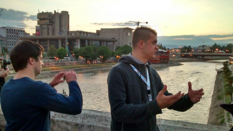 City tour, Stone Bridge Skopje