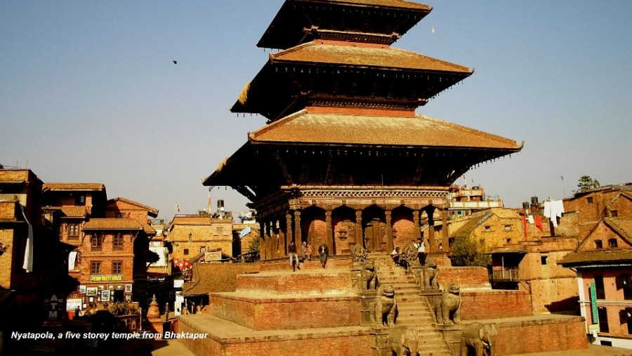 Nyatapola, 5 storied temple of Siddhi Laxmi