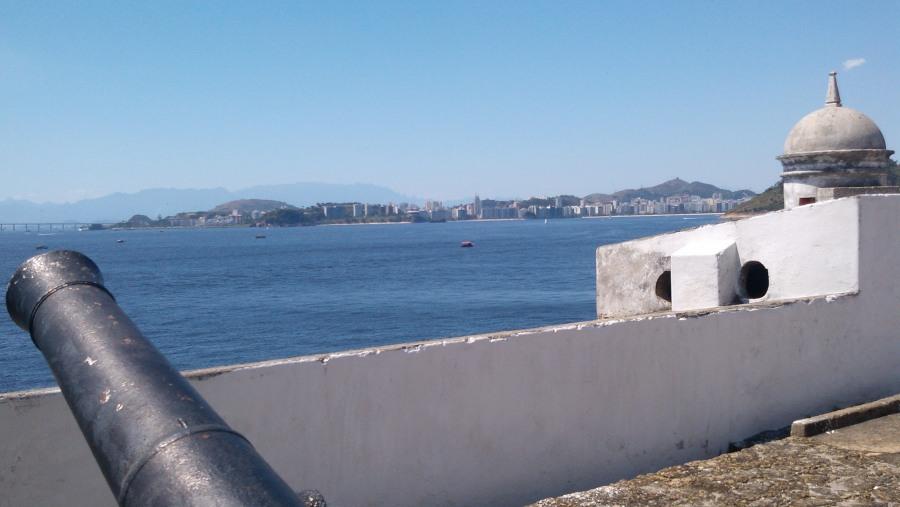 View from the Fortaleza de Santa Cruz da Barra, in Niterói