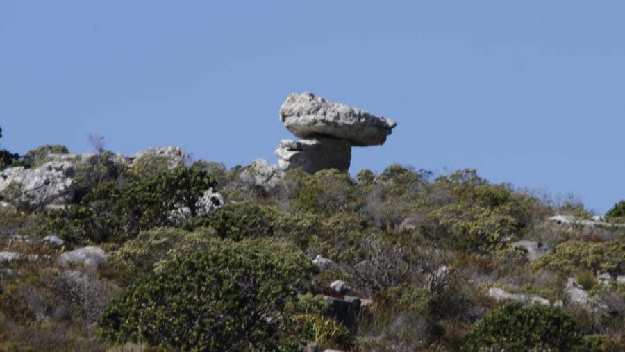 Stunning Rocks on the Cape Peninsula Route