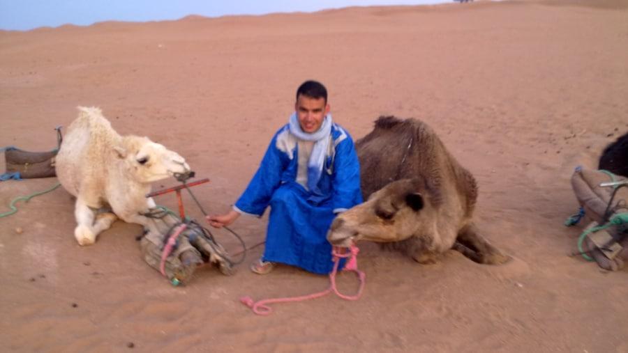 Erg chegaga, sahara desert