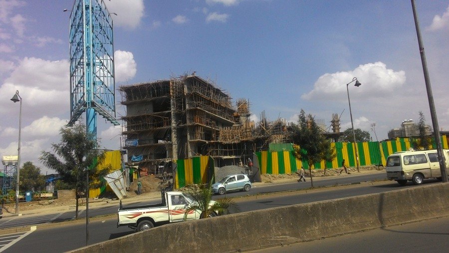 New building in Addis Ababa