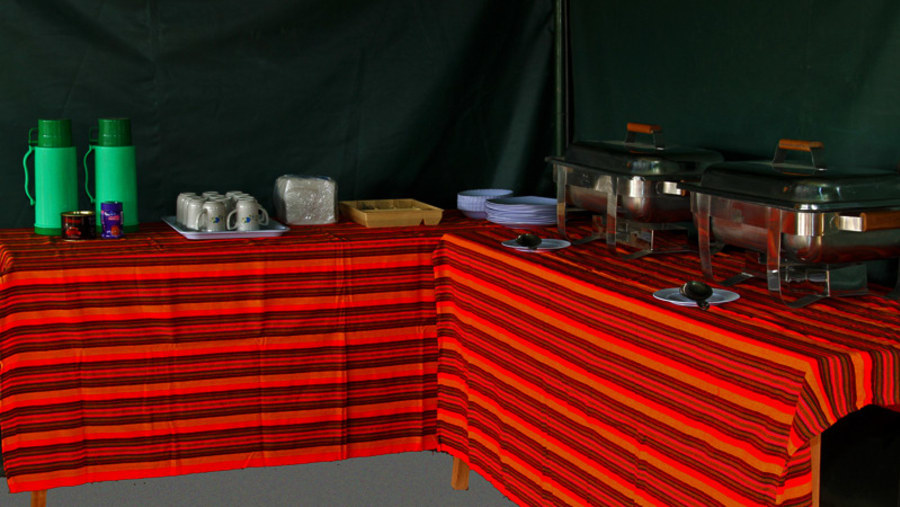 Buffet Meals - Fisi Camp