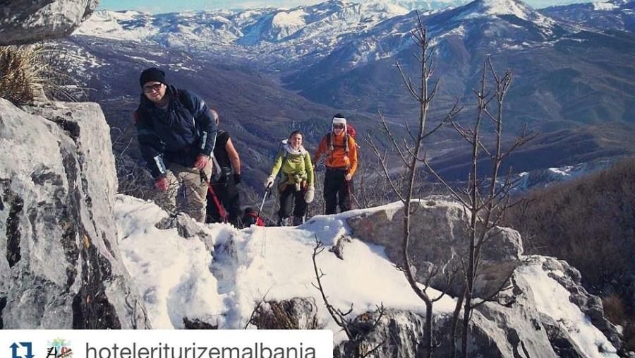 Hiking In Dajti mountain