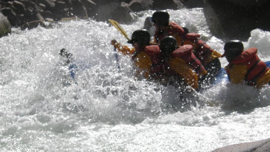 White-water rafting tour in Apurimac River