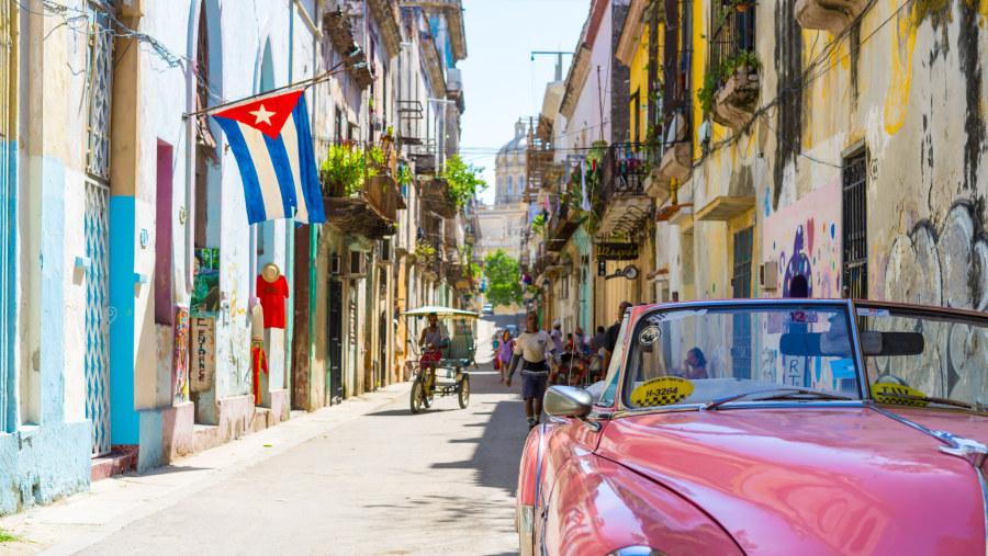 Old Havana little streets
