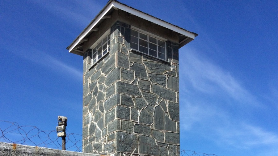 Watch tower roben island
