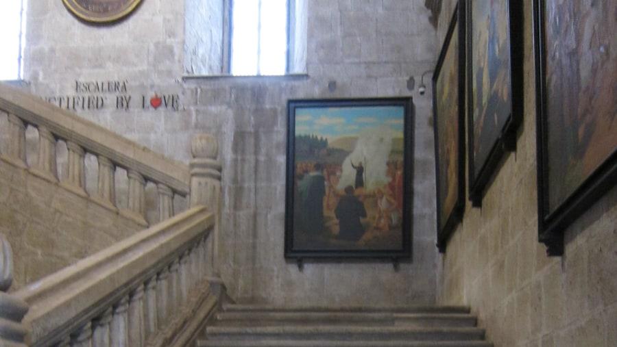 San Agustin Church Stairwell