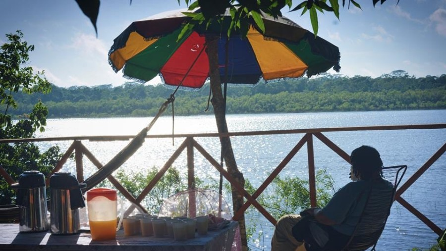 Breakfast on the Ucayali River